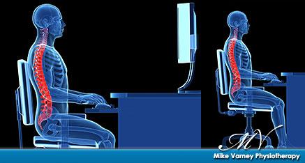 Ergonomic seating position
