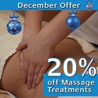December Massage Treatment Offer
