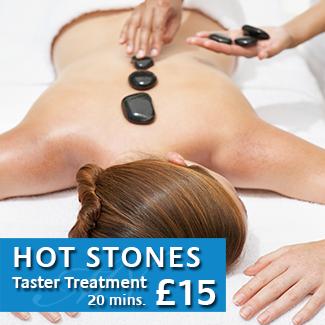 Hot Stones Taster Treatment