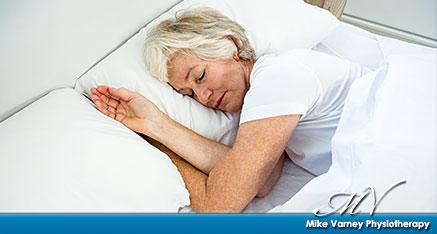 Sleeping position assessment