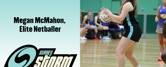 Physio Treatment –  Megan McMahon, Elite Netballer
