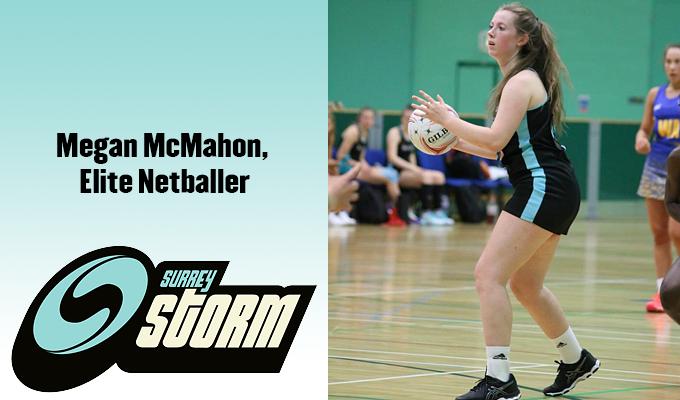 Megan McMahon netball player